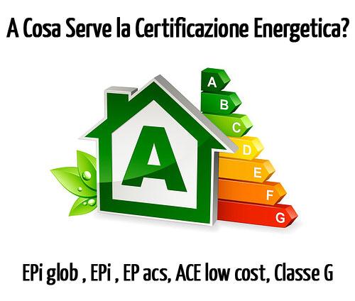Indici prestazione energetica degli immobili mediare oggi - Classe energetica casa g ...